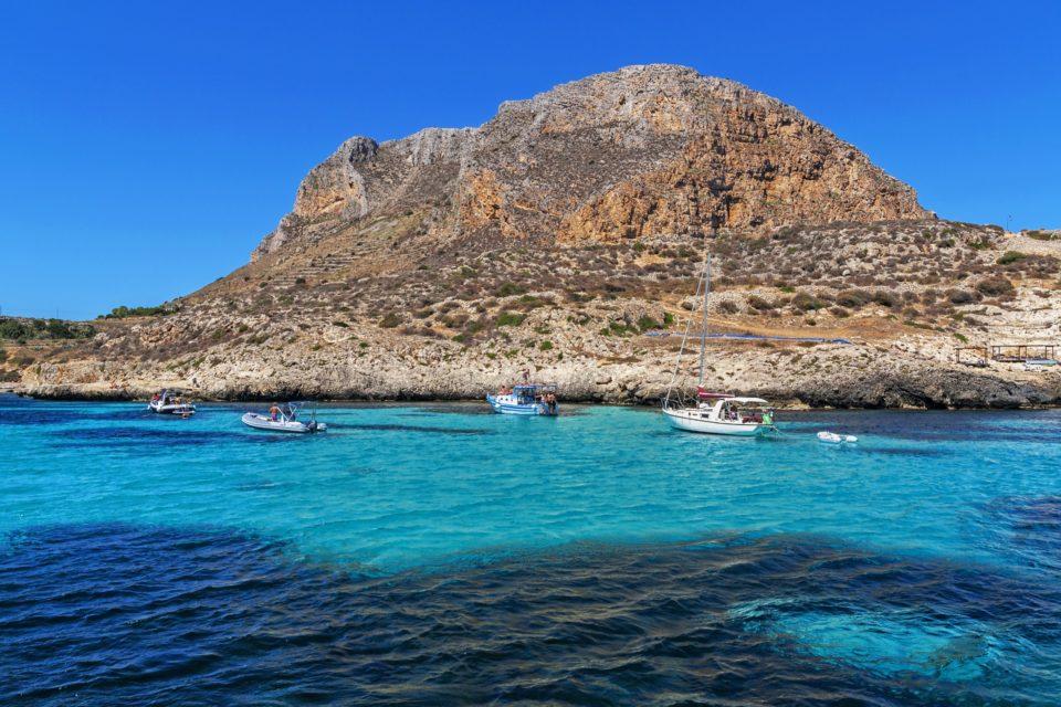 Escursioni in barca a Levanzo (Isole Egadi)