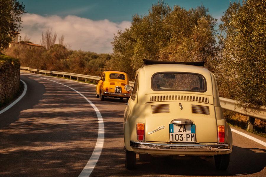 Sicily Vintage Tour in Fiat 500