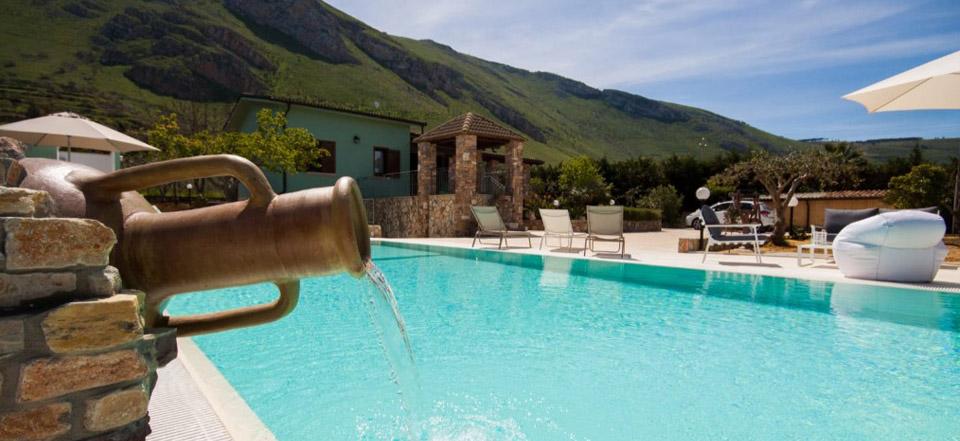 Locazione ville con piscina Sicilia