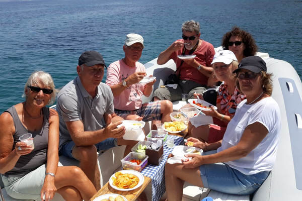 Escursione in gommone Isole Eolie