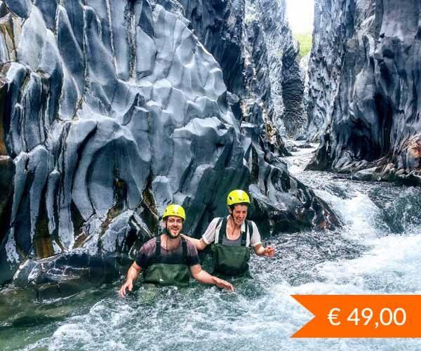 Trekking Fluviale Gole Alcantara