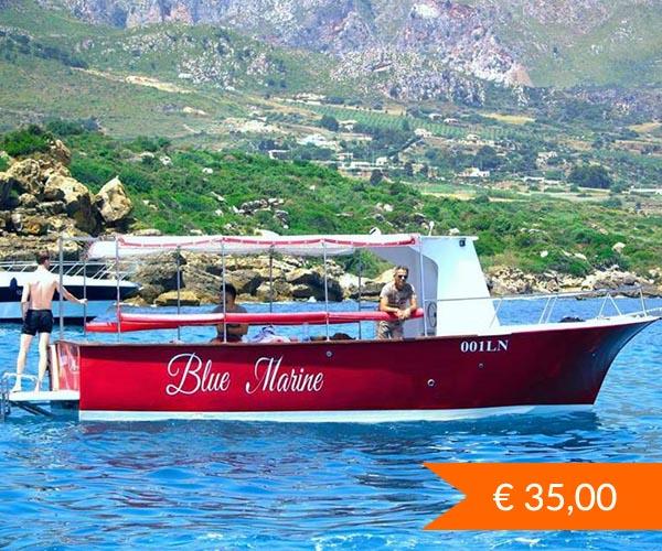 Escursione in barca Riserva dello Zingaro