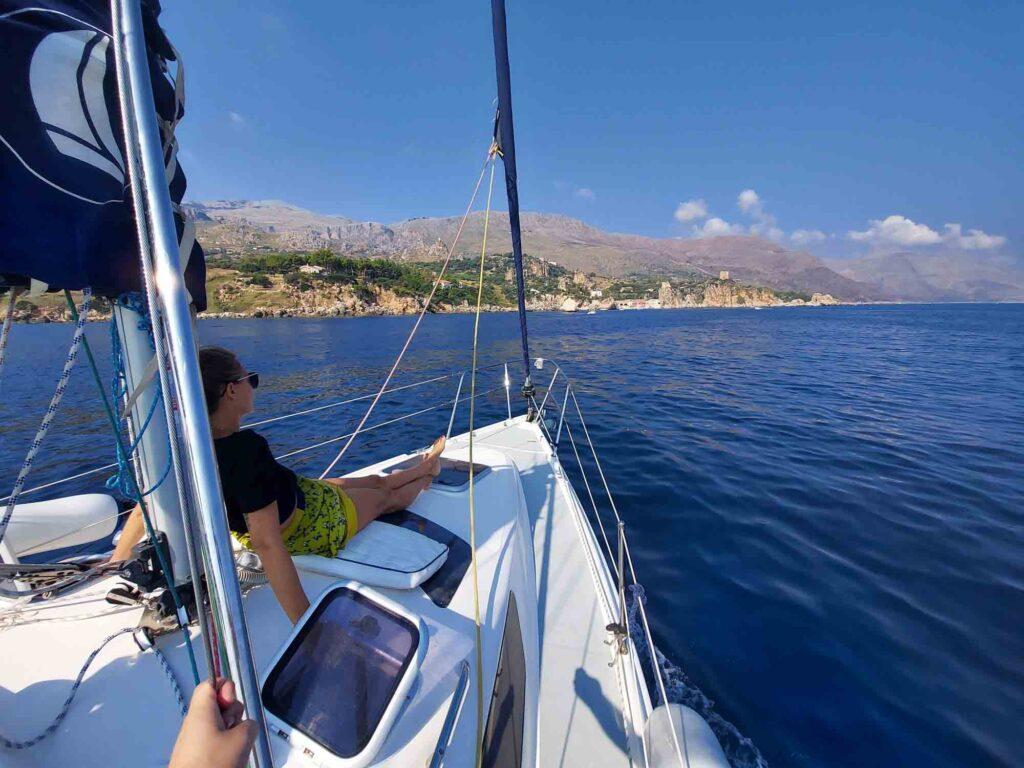 Tour in barca a Vela Riserva dello Zingaro