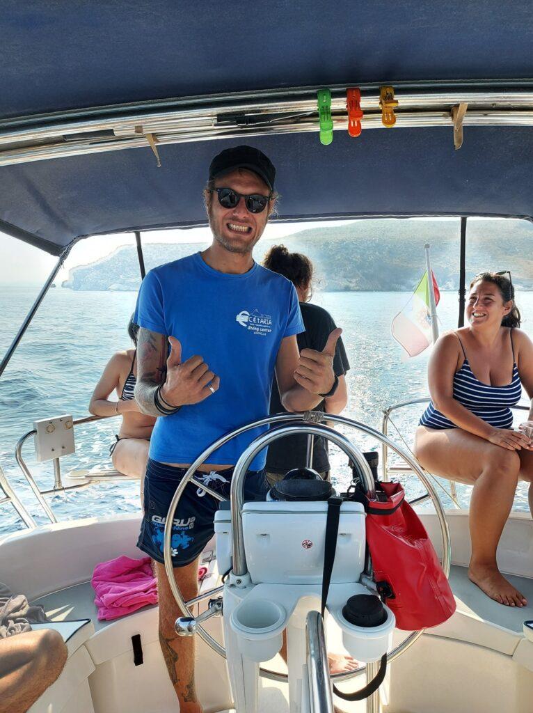Minicrociera in barca a vela con skipper da Castellammare del Golfo