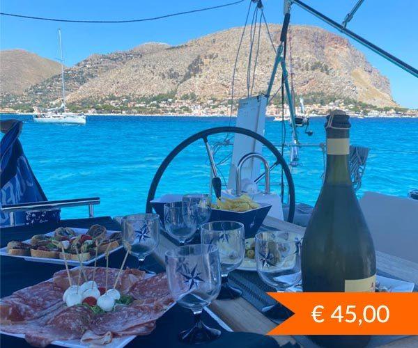 escursione in barca a vela da Palermo